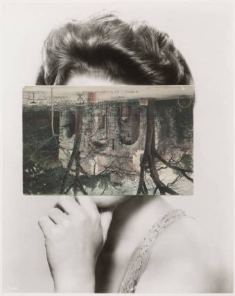 Mask XIII 2006 by John Stezaker born 1949