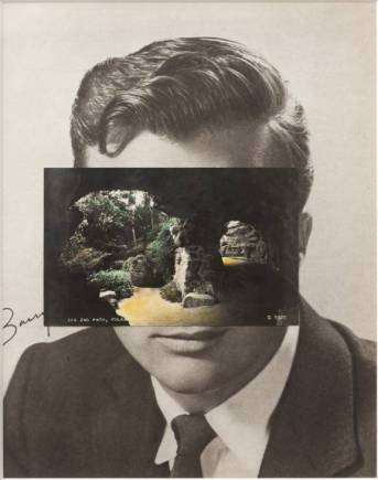 Mask XIV 2006 by John Stezaker born 1949